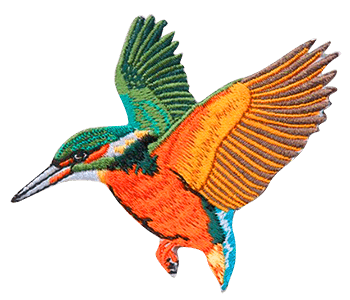 Bird embroidery digitizing