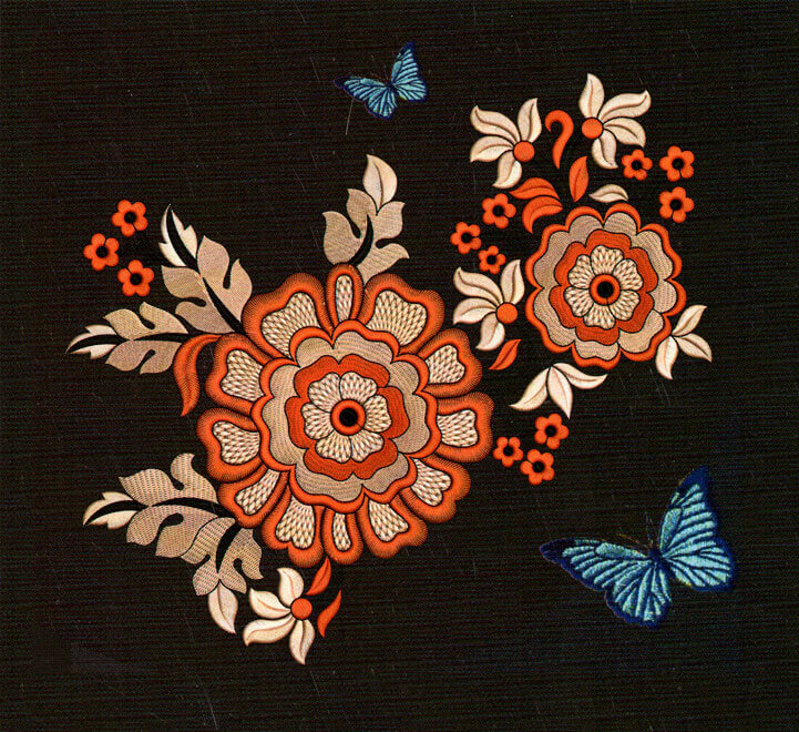 Embroidery digitizing cloth